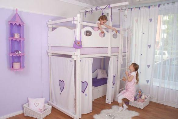lit mezzanine blanc. Black Bedroom Furniture Sets. Home Design Ideas