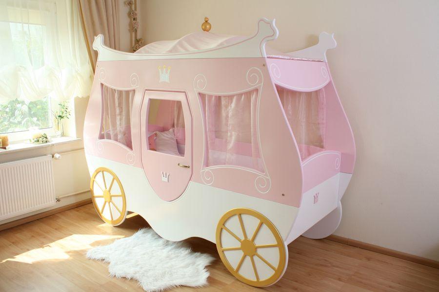 Lit enfant carrosse de princesse - Lit carrosse de princesse ...