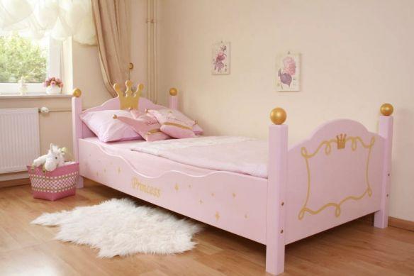 lit princesse rose - Lit De Princesse