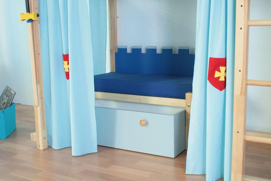 lit mezzanine ch teau fort shop oli niki. Black Bedroom Furniture Sets. Home Design Ideas