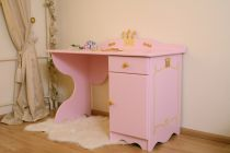 Bureau Enfant Princesse Rose