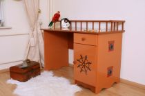 Bureau Enfant Pirate Marron